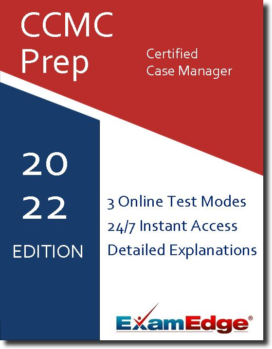 Order Practice Exams CCMC Certified Case Manager | ExamEdge.com